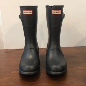 Matte Hunter Short Boots